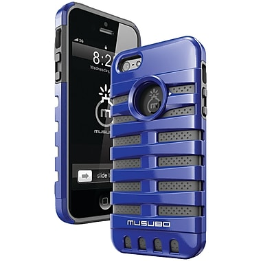 Musubo™ Retro Case For iPhone 5, Blue