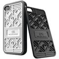 Musubo™ Sneaker Case For iPhone 4/4s, White Back Plates With Black Bumper