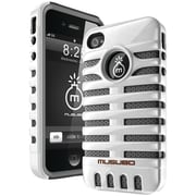 Musubo™ Retro Case For iPhone 4/4s, White