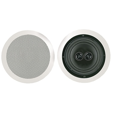 Bic America MSR8D Dual Voice Coil Stereo Ceiling Speaker