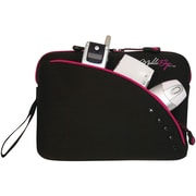 "Mobile Edge 8.9"" Ultrabook/Tablet Sleeve, Black/Pink"