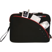Mobile Edge 8.9 Ultrabook/Tablet Sleeve, Black/Red