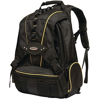 Mobile Edge Premium Backpack For 17.3in. Laptop, Yellow/Black