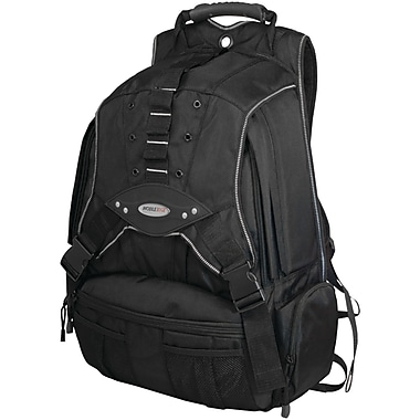 Mobile Edge Premium Backpack For 17.3in. Laptop, Black/Charcoal