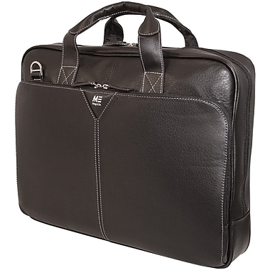 Mobile Edge 16in. Deluxe Notebook Briefcase, Black