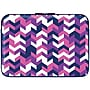 Macbeth 15.6 Zippered Laptop Sleeve, Swizzle Pourpre