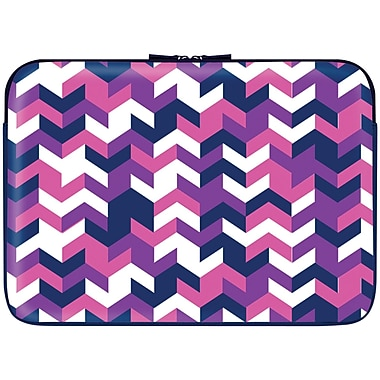 Macbeth 15.6in. Zippered Laptop Sleeve, Swizzle Pourpre