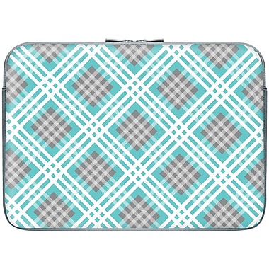 Macbeth 15.6in. Zippered Laptop Sleeve, Confetti Plaid