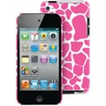 Macbeth Collection Hardshell Fashion Case For 4th Generation iPod Touch, Pink Giraffe
