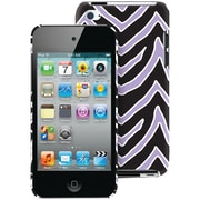 Macbeth Collection Hardshell Fashion Case For 4th Generation iPod Touch, Lilac and Black Zebra