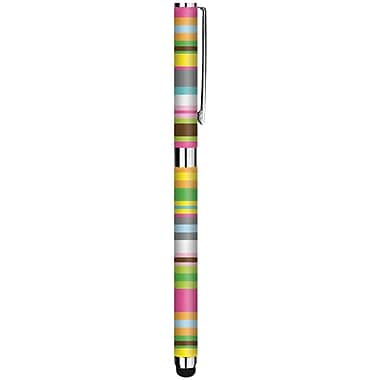 Macbeth Collection Universal Pens and Stylus for Touchscreen Devices, Hip Hip Stripe