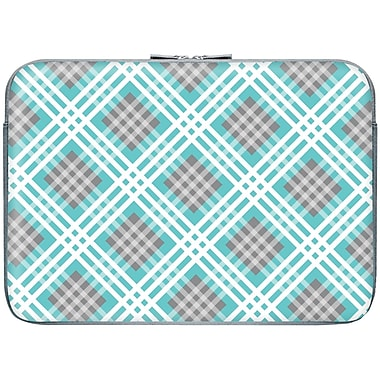 Macbeth 13.3in. Zippered Laptop Sleeve, Confetti Plaid