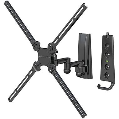 Level Mount® LVMDC30SJ 26in. to 47in. Full-Motion Dual-Arm Mount For Flat Panel TVs Up To 70 lbs.