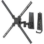 Level Mount® LVMDC30SJ 26 to 47 Full-Motion Dual-Arm Mount For Flat Panel TVs Up To 70 lbs.
