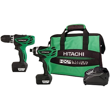 Hitachi KC10DFL 10.8/12V Peak HXP Micro Series 2-Piece Combo Kit