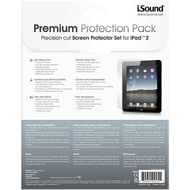iSound® iSound-4570 Screen Protectors For iPad 2
