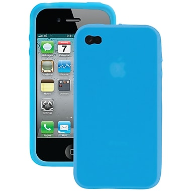 Iessentials Silicone Skin Case For iPhone 4/4S, Blue
