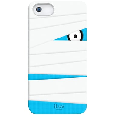 iLuv® Mummy Silicone Character Case For iPhone 5, White