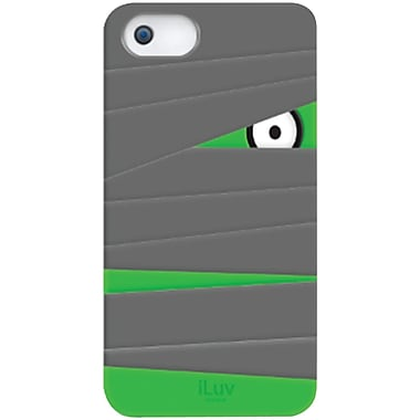 iLuv® Mummy Silicone Character Case For iPhone 5, Gray