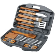 Chefs Basics 18-Piece Select BBQ Set In Blow Mold Case