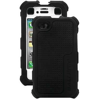 Ballistic® Hard Core Case For iPhone 4/4S, Black/White
