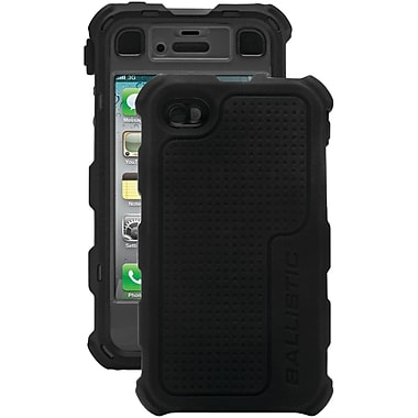Ballistic® Hard Core Case For iPhone 4/4S, Black/Gray