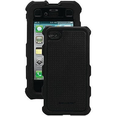Ballistic® Hard Core Case For iPhone 4/4S, Black