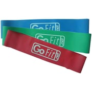 Gofit GF-PLP Set of 3 Power Loops With Flip Chart