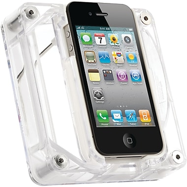 Griffin AirCurve Play Acoustic Amplifier For iPhone 4, Transparent