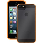 Griffin Reveal Case For iPhone 5, Fluoro Orange/Clear