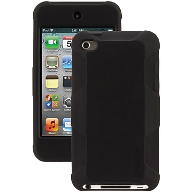 Griffin Survivor Skin Case For iPod Touch 4G, Black
