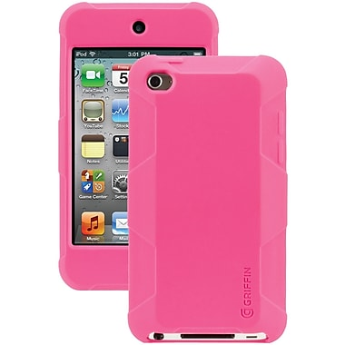 Griffin Survivor Skin Case For iPod Touch 4G, Pink