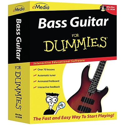 Emedia Bass Guitar For Dummies CD ROM