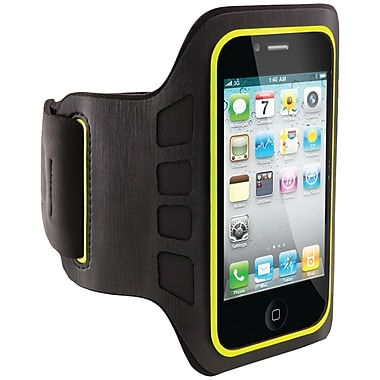 Belkin® Easefit Armband For iPhone, Black/Limelight