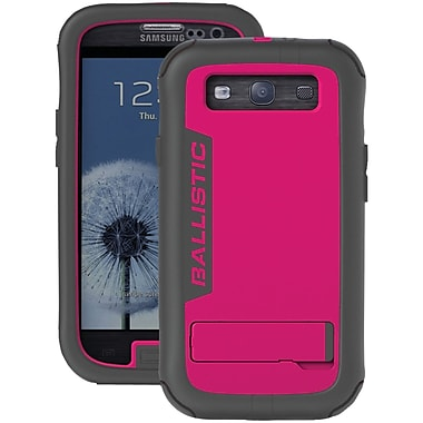 Ballistic® Every1 Case For Samsung Galaxy S III, Black/Pink
