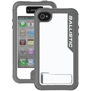 Ballistic® Every1 Case For iPhone 4/4S, Charcoal/White