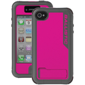 Ballistic® Every1 Case For iPhone 4/4S, Charcoal/Pink