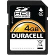 Duracell® Clamshell 4GB SDHC (Secure Digital High-Capacity) Class 4 Flash Memory Card