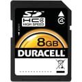Duracell® 8GB SDHC (Secure Digital High-Capacity) Class 10 Flash Memory Card