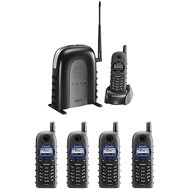 EnGenius® DURAFON1XPIDW 900 Mhz Long-Range Cordless Phone System, Black
