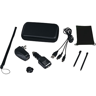CTA® Digital DS-9KB Nintendo Dsi/ds 9-in-1 Travel Kit, Black