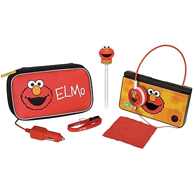 DreamGEAR® DGDSI-2704 7-in-1 Travel Kit, Elmo, Red