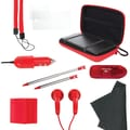 DreamGEAR® DG3DS-4212 13-in-1 Gamer Pack, Red