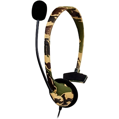 DreamGEAR® DG360-1722 Broadcaster Headset, Camo