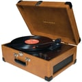 Crosley Radio CR6249A-TA Deluxe Keepsake USB Turntable, Tan