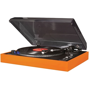 Crosley Radio CR6009A-OR Advance Turntable, Orange