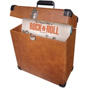 Crosley Radio CR401-TA Record Carrier Case, Tan