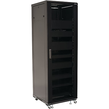 Sanus® Foundations™ CFR2136 70 1/2in. AV Rack, Black