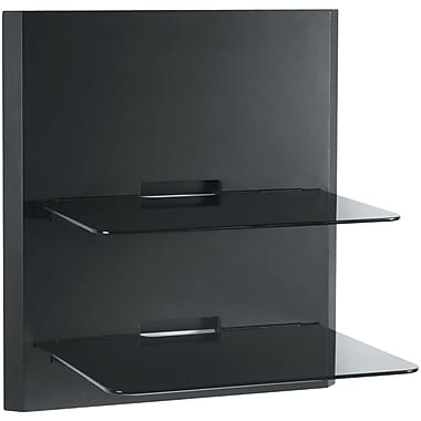 Omnimount® BLADE2 B Wall Furniture Shelves, Black