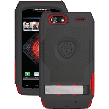 Trident™ AMS-XT912 Kraken Ams Case With Holster For Motorola® Droid™ Razr Maxx™, Red